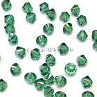 6mm Erinite (360) Genuine Swarovski crystal 5328 / 5301 Loose Bicone Beads