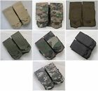 New Molle Double Maga Pouch 7 Colors--Airsoft Game