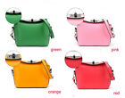 STUNNING LADIES PU LEATHER PINK, ORANGE, RED, GREEN SHOULDER HANDBAG : IB56