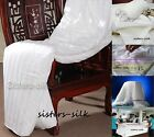 100% TOP GRADE SILK FILLED DUVET QUILT DOONA W/ HIGH COUNT COTTON SHELL ALL SIZE