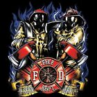 FIRE FIGHTER RESCUE SERVE SWEAT SHIRT BLACK