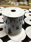 100 yard Paper Raffia Ribbon Gift Wrapping Stripe Decorate Tape Packaging Black
