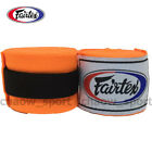 FAIRTEX FULL LENGTH ELASTIC COTTON HANDWRAPS 180? HW2 MUAY THAI KICK BOXING MMA