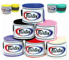 "Внешний вид - FAIRTEX FULL LENGTH ELASTIC COTTON HANDWRAPS 180"" HW2 MUAY THAI KICK BOXING MMA"