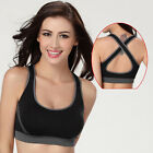 Hot New Chic Padded Bra Top Athletic Vest Gym Fitness Sports Yoga Apparel UK FO