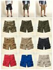 New Hollister by Abercrombie Men Classic Cargo Pocket Shorts Vintage Wash Sizes