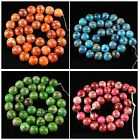 Multi-Color Variscite ball loose beads,0.5'' Gemstone wholesale