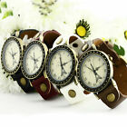 Unsex Effiel Tower Leatheroid Wristwatches Colorful Quartz Wrist Watch Watches