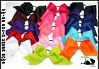 """XWIDE 3"""" Texas Size Tryout Practice Competition Cheer Cheerleading Bow Choose 1"""