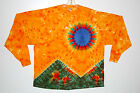 Adult L/S TIE DYE Scarlet Fire TShirt 2X 3X 4X Grateful Dead hippie Plus Sizes