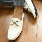 Faux Leather Mens Comfy Casual Slip On Loafer Shoes Moccasins Driving-UK fo