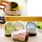 Lady style rustic small fresh Lady printing Coin purses purse key cases FO UK