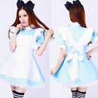 Brave Alice dressed up Cosplay Sexy Beer Lolita Maid Outfit Costume Party M-XL