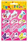 6 - 30 sheets of FAIRY STICKERS Party loot bag filler Toy kids GIRL FuN child