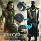 Film thor 2 the dark world loki cosplay costumes XS-CUSTOM MADE for Christmas
