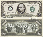 24th President G. Cleveland 1893-97 Novelty Bill Notes 1 5 25 50 100 500 or 1000