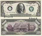 22nd President G. Cleveland 1885-89 Novelty Bill Notes 1 5 25 50 100 500 or 1000