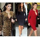 2014 Womens Vintage Rockabilly Celeb Style Keyhole Bodycon Party Pencil Dress