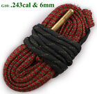 Bore Snake Cleaner .17 .44 .22 Cal .308 Caliber 12 Gauge Rifle/Pistol Cleaning
