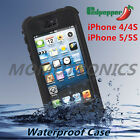 Slim Strong Heavy Duty Waterproof Shockproof iPhone 4/4S/5/5S cover case