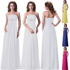 Hot Sale Stock Prom Dresses Evening Cocktail Party Wedding Bridesmaid Gown Dress