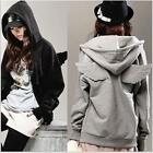 Fashion  Womens  Wings Casual Hoodie Jacket Coat tops Outerwear UK FO