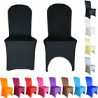 20pcs Spandex Chair Covers Lycra Cover Wedding Banquet Anniversary Party Decor
