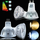 10 x GU10 / MR16 LED LAMPs 4W HIGH POWER SPOTLIGHT DAY / WARM WHITE LIGHT BULBS