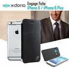 X-doria Engage Folio Leather Wallet Card Case Cover For Apple iPhone 6 & 6S Plus