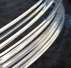5' Sterling Silver-Filled ROUND DS Wire 10 12 14 16 18 20 21 22 24 26 Gauge GA