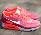 Nike Air Max 90 Ice 631748-601 Laser Crimson White Legion Red Geometric Size 11