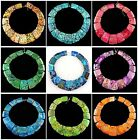 048 Multi-Color Gemsone Variscite loose beads 15pcs wholesale mix