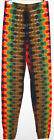 Adult TIE DYE Leggings Rasta DNA hippie art boho long johns sm med lg xl 2x