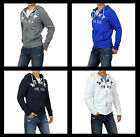 New Abercrombie A&F by Hollister Men Calkins brook hoodie SweatShirt Muscle Size