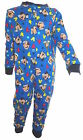 Disney Mickey Mouse Boy's Onesie Pyjamas Age 18 Months - 5 Years Available