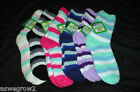 New  ladies striped soft  fuzzy crew socks  size  9-11  *your  color  selection