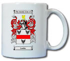 LEADLEY COAT OF ARMS COFFEE MUG