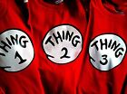thing one and thing two t-shirts infant toddler youth adult new thing 1 t-shirt
