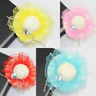New Girls Cute Hat Cap Hair Clip Hair Grip Fascinator Hair Ornament # 6 Colors