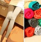 FD480 Women Girl Candy Leggings Colorful Modal Comfortable Leggings Pants 1pc