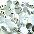 Swarovski 2058 XILION Rose Flatbacks No-Hotfix rhinestones Round Sample Pack
