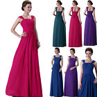 CHIC Womens Long Chiffon Bridesmaid Pageant Gown Evening Prom HOMECOMING Dresses
