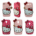 Hello Kitty Polka Dot Silicone Rubber New Case Cover For iPhone 4 5 6 S3 S4 S5