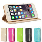 """Luxury Magnetic Flip Stand Wallet Leather Case For iPhone 6 Plus 5.5"""" Tide"""