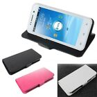 """Fashion Luxury Leather Case Cover Skin For 4.5"""" THL W100 Smartphone LR"""