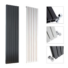 Vertical Designer Radiator - Tall Flat Panel Column Central Heating Radiators