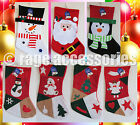CHRISTMAS XMAS STOCKING | PATCHWORK & TRADITIONAL | SANTA ANGEL PENGUIN SNOWMAN