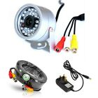DIY - Mini CCTV Security Camera IR Night Vision Colour Infrared, BNC Cable, PSU