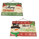 MERRY CHRISTMAS PLAQUE / SIGN  - 10137