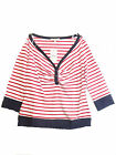 BRAVISSIMO WOMENS TOP COTTON  in red stripe (2)